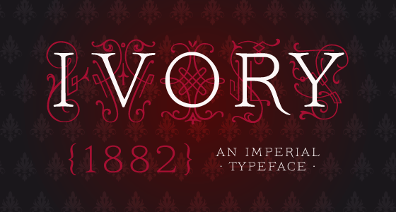 Ivory font family from FaceType